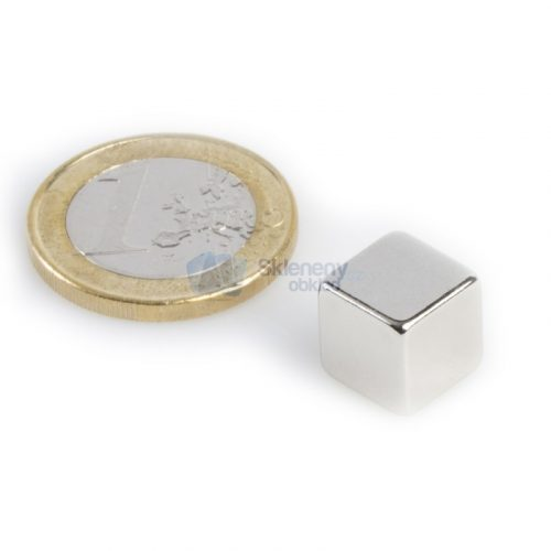 Super silný magnet krychle 10x10x10 mm