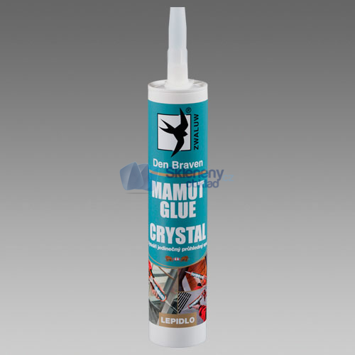 Lepidlo MAMUT GLUE CRYSTAL 290 ml transparentní